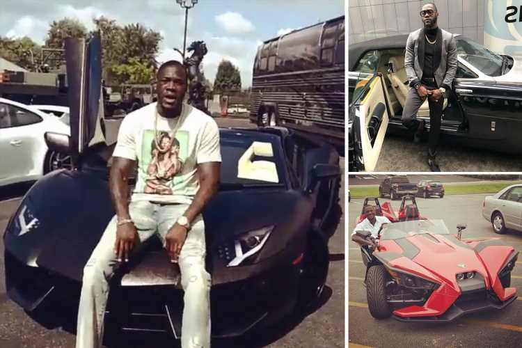 Inside Deontay Wilder's amazing car collection, from a £430k alligator-skin wrap Lamborghini to a metallic bronze Hummer – The Sun