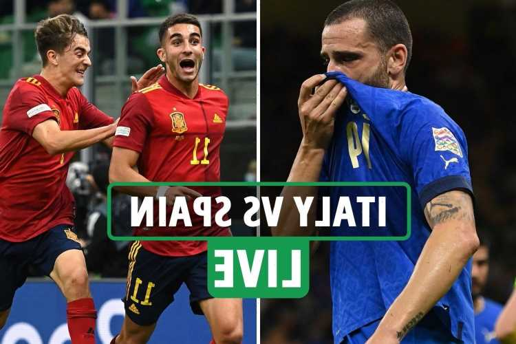 Italy vs Spain LIVE: Stream, score, TV channel – Pellegrini goal sets up dramatic finish as Italy's run hangs in balance