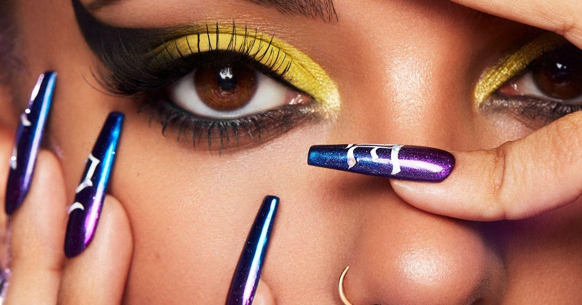 Jade Thirlwall gets alien glam makeover for launch of her incredible £30 eyeshadow palette