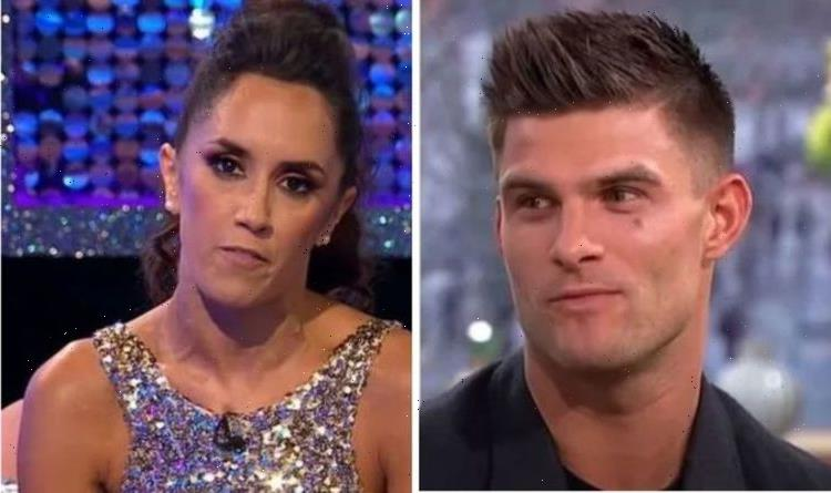 Janette Manrara took Aljaz's Strictly partner to the side over sensual routine