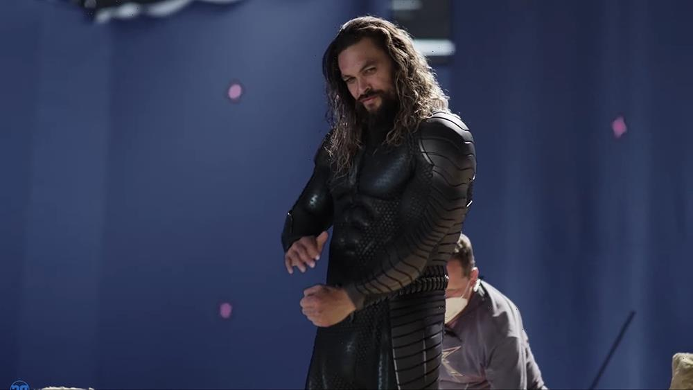 Jason Momoa Shares Behind-the-Scenes Look at 'Aquaman and the Lost Kingdom' at DC FanDome