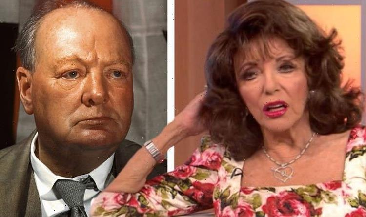 Joan Collins fires back at Churchill criticism 'We'd all be walking around with swastikas'