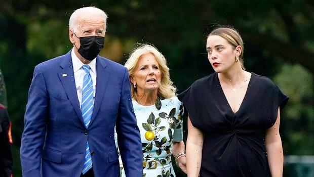 Joe & Jill Biden Return To White House With Granddaughter Naomi, 27, After Nephew's Wedding