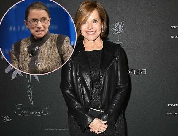 Katie Couric Admits She Edited Out Ruth Bader Ginsburg's Problematic Views On Football Players Kneeling For The Anthem