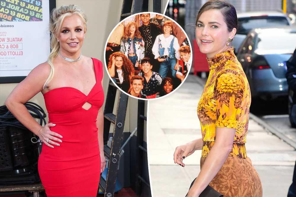 Keri Russell hopes fellow Mouseketeer Britney Spears is 'happy'