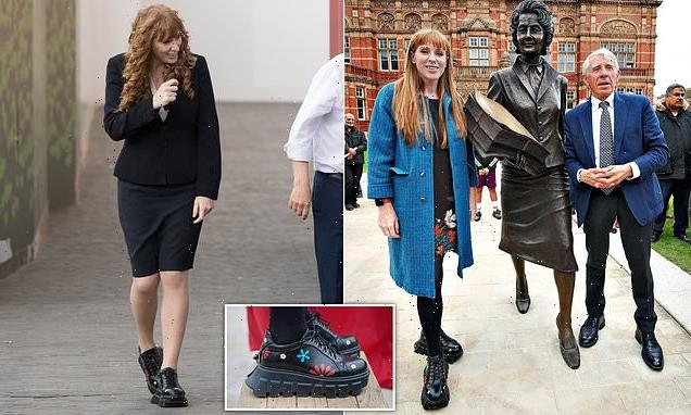 Labour's Angela Rayner puts the boot in – again!