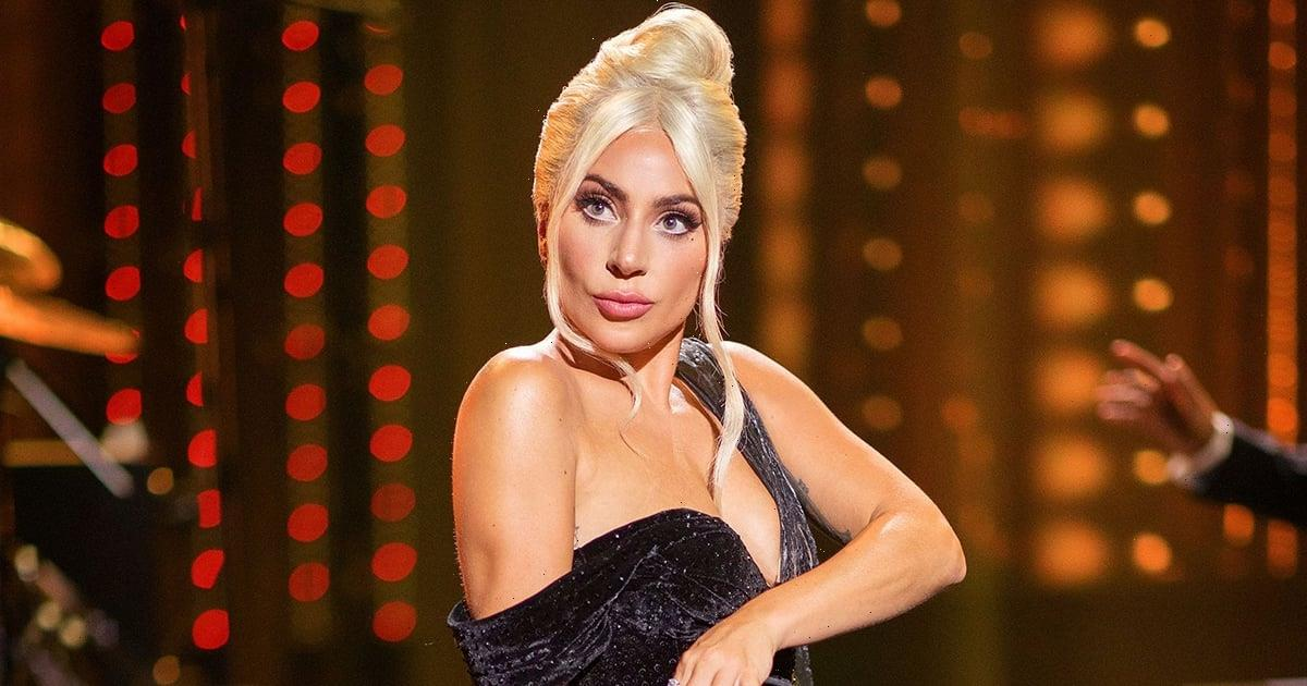 Lady Gaga Celebrated Her Album Launch in 2 Glamorous Gowns Designed by Her Own Sister