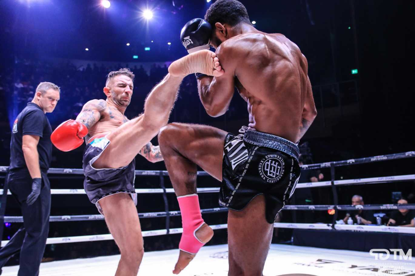 Liam Harrison 'over the moon' with successful return at Muay Thai Grand Prix after 18-month hiatus