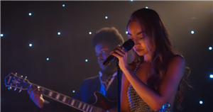 Little Mix's Leigh-Anne Pinnock's movie debut revealed in first look at festive romcom