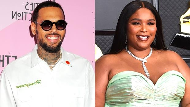 Lizzo Fans Furious After She Meets Chris Brown & Calls Him Her 'Favorite Person' In The World
