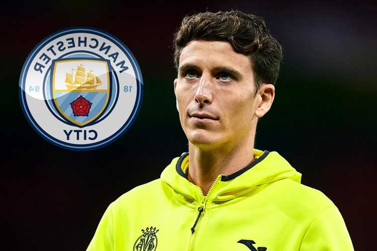 Man City 'well positioned' to sign ex-Man Utd transfer target Pau Torres after scouting Villarreal star for 'long time'