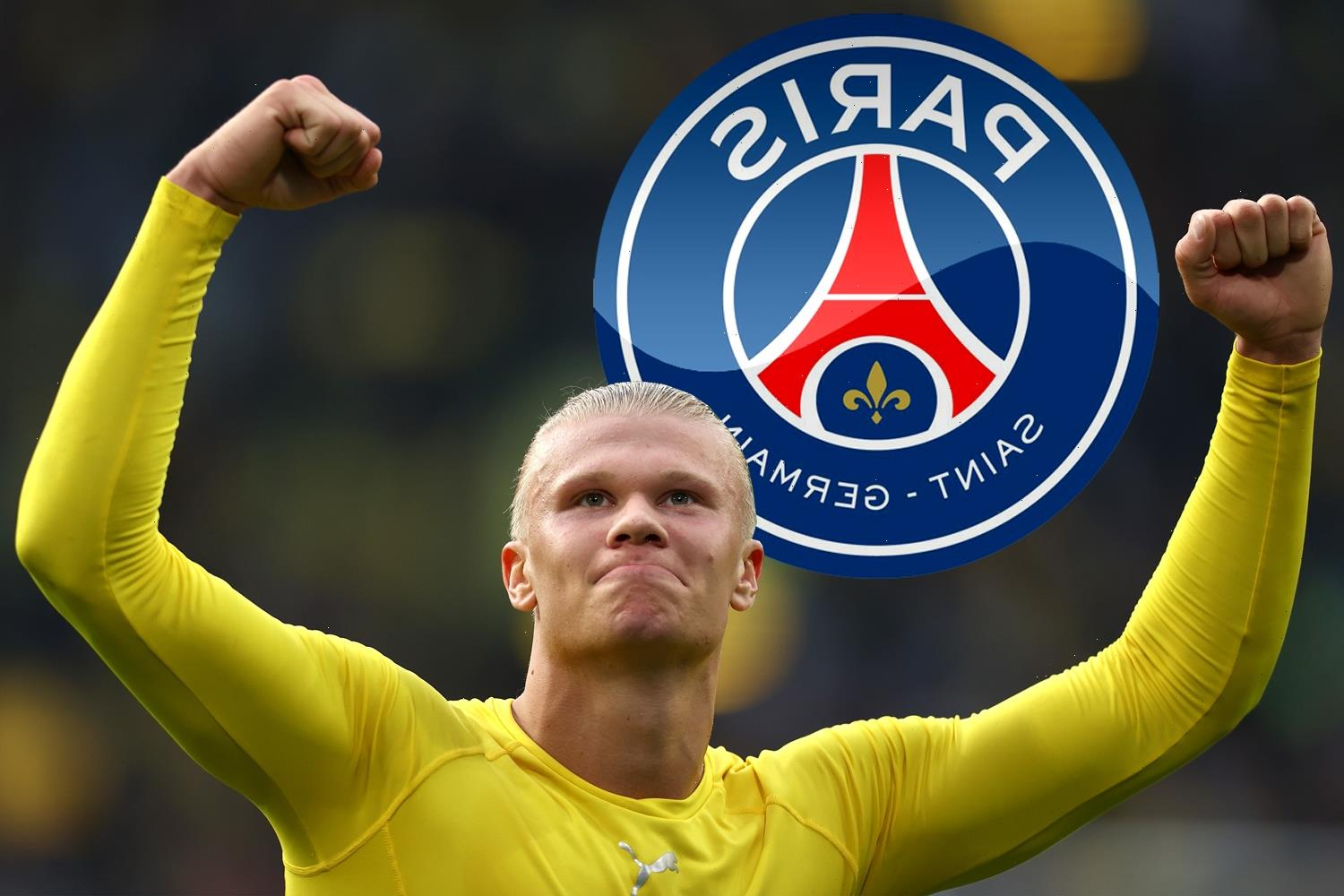 Man Utd joined by PSG in Erling Haaland transfer race with Lewandowski 'back-up option if Mbappe leaves for Real Madrid'