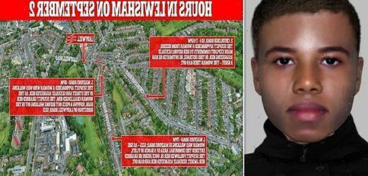 Manhunt for Lewisham schoolboy sex attacker who preyed on three women