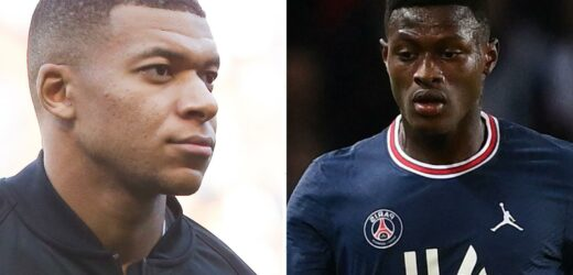 Mbappe admits he had only heard of new team-mate Nuno Mendes from Football Manager before PSG transfer