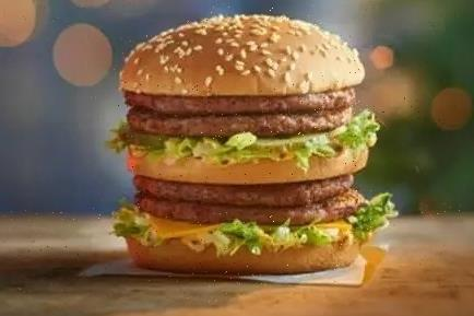McDonald's customers slam 'shameful' lack of key ingredient in new Double Big Mac burger… but can YOU spot the problem?
