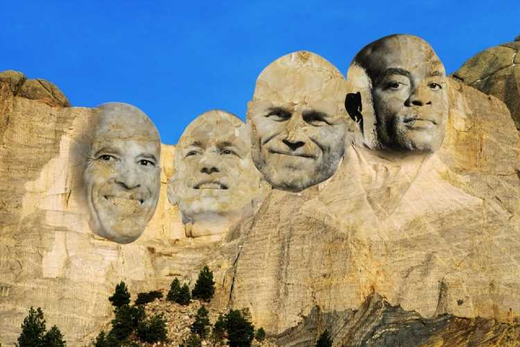 Michael Bisping reveals 'MMA Mount Rushmore' including first ever UFC champion, Anderson Silva and Georges St-Pierre