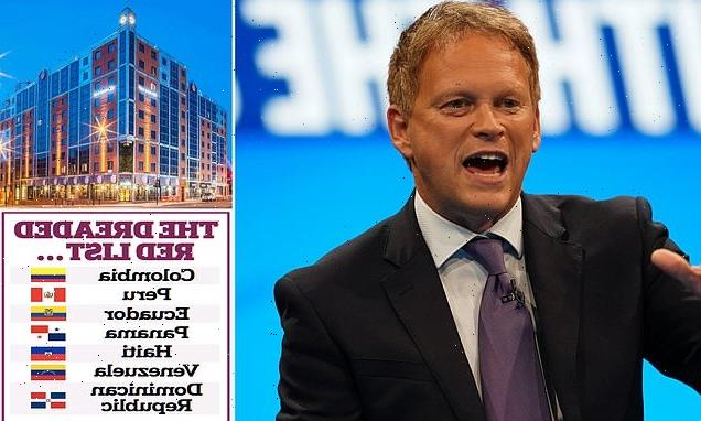 Ministers 'to scrap £2,285 quarantine hotels' as red list is slashed