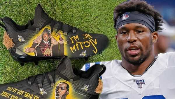 NFL's Nyheim Hines Cops Scary 'Candyman' Cleats, 'Be My Victim'