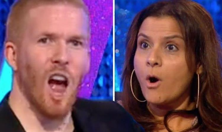 Neil Jones scolded by Nina Wadia after swipe over Strictly exit Cant wait to get rid!