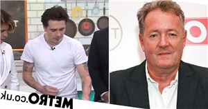 Piers Morgan takes swipe at Brooklyn Beckham's 'pointless' cooking segment
