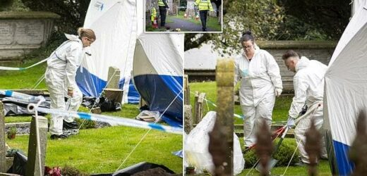Police dig up graveyard as they launch 'archaeological investigation'