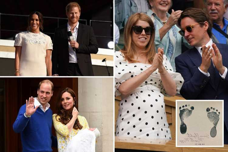 Princess Beatrice follows Meghan Markle and Prince Harry and William and Kate with royal baby name trend