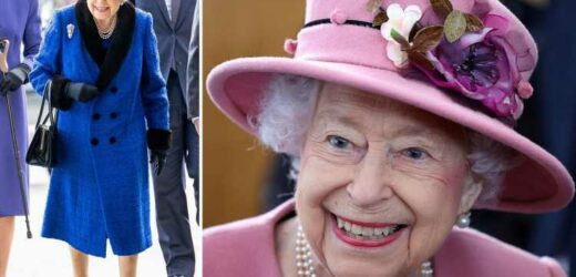 Queen, 95, cancels Northern Ireland trip on medical advice to rest for few days but is in 'good spirits', Palace says