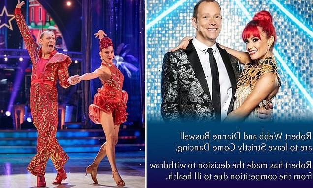 Robert Webb QUITSStrictly Come Dancing!