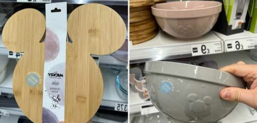 Shoppers are scrambling to get their hands on ASDA's new Disney cookware range with prices starting at just £3