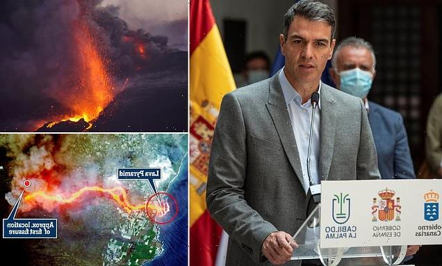 Spain's PM vows to rebuild La Palma after devastating volcano damage