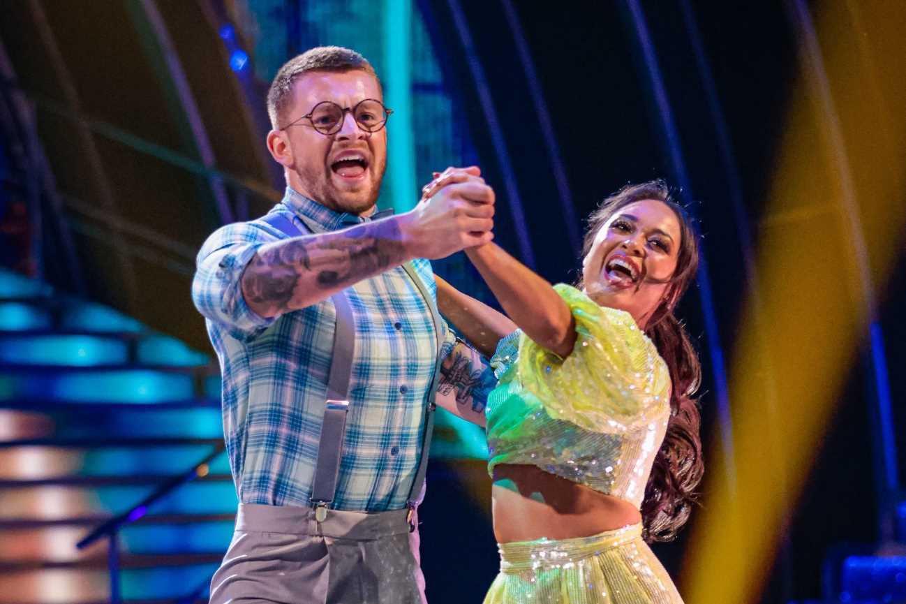 Strictly's Adam Peaty suffers 'savage' ankle injury in rehearsal with Katya Jones