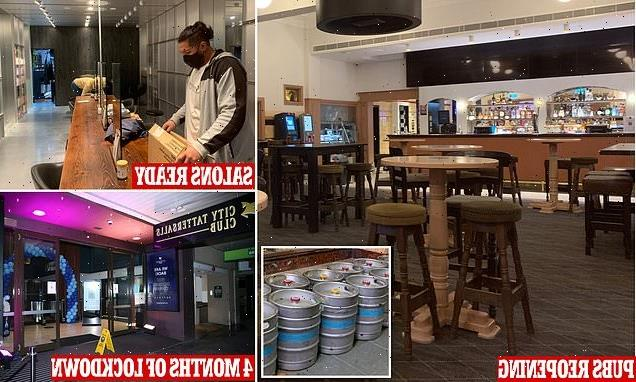 Sydneysiders ready to hit the pub, pokies and hair salons at midnight
