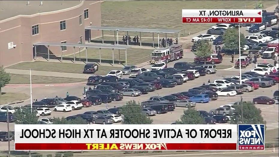 Texas police confirm shooting at Arlington high school