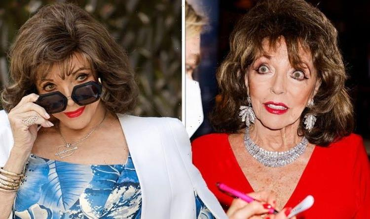 That's f***ing rude! Dame Joan Collins, 88, hits back as she's questioned about retiring