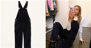 These Corduroy Overalls Are My New Favorite Fall Outfit Piece, and They're So Affordable!