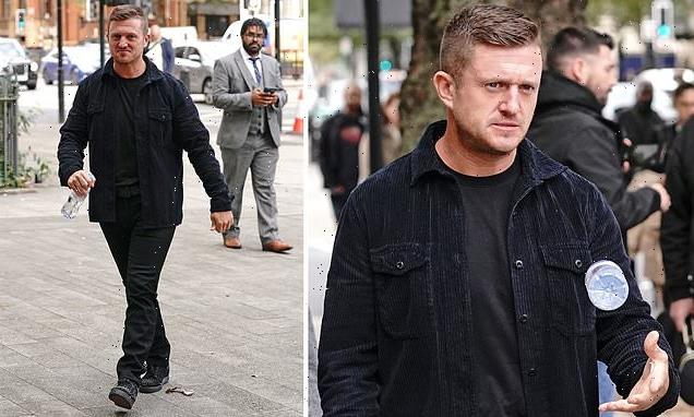 Tommy Robinson handed five-year stalking ban