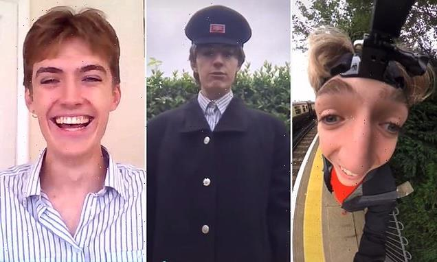 Trainspotter becomes Tik Tok hit with hilarious footage from platforms
