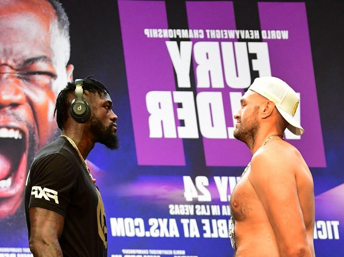 Tyson Fury responds to Deontay Wilder's accusations of cheating in first rematch