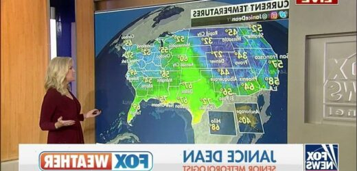Warmer weather forecast for East as storms to bring moisture to drought-stricken West