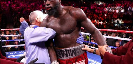 What is the latest update on Deontay Wilder's condition? Bronze Bomber taken to HOSPITAL after Tyson Fury trilogy defeat
