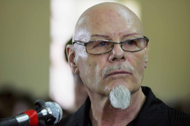 Where is Gary Glitter in prison?