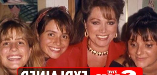Who are Jackie Collins' daughters Tracy, Tiffany and Rory?