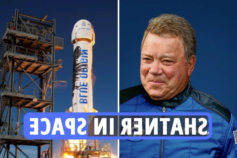 William Shatner Blue Origin launch LIVE – Star Trek actor to cross final frontier within minutes on Jeff Bezos' rocket