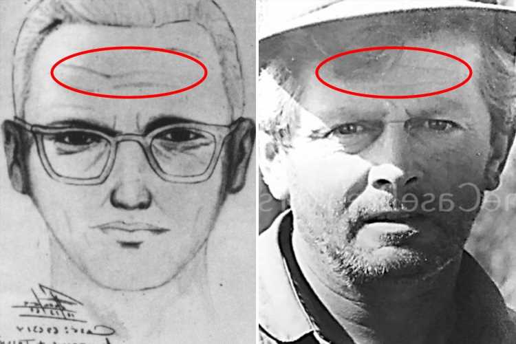 Zodiac Killer case breakers matched Gary Poste's scars to killer's forehead on police sketch to 'crack' murder mystery