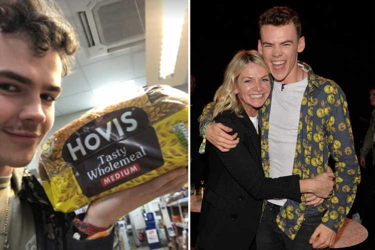 Zoe Ball's son Woody Cook insists he CHOSE to be cut off financially by famous parents as he's left unable to buy bread