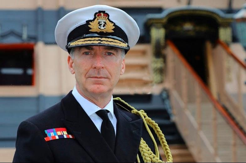 'Radical' Navy chief set to lead Britain's armed forces for the first time in almost two decades
